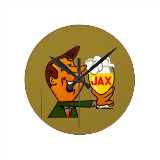 Relógio Redondo Cerveja de Jax