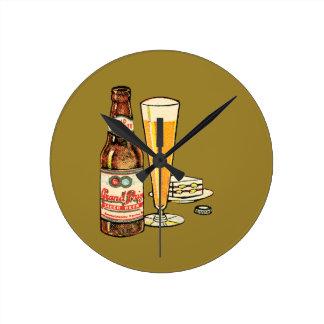 Relógio Redondo Cerveja premiada grande