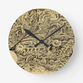Relógio Redondo Chamber_by doente Brian Benson