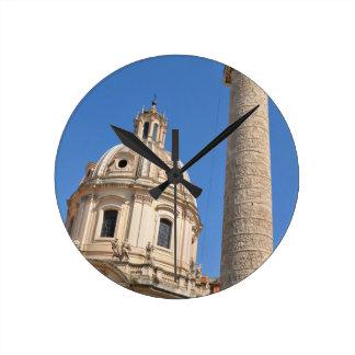 Relógio Redondo Cidade antiga de Roma, Italia