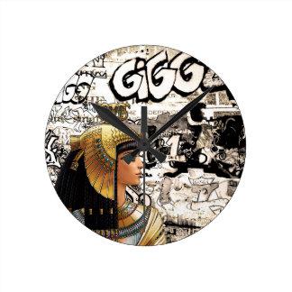 Relógio Redondo Cleopatra