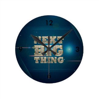 Relógio Redondo Coisa grande seguinte do T