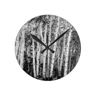 Relógio Redondo Colunas da região selvagem