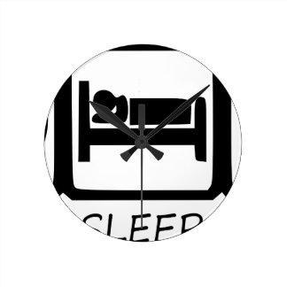RELÓGIO REDONDO COMA SLEEP31