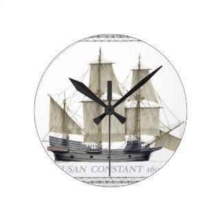 Relógio Redondo constante 1607 de susan