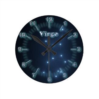 Relógio Redondo Constelação do Virgo