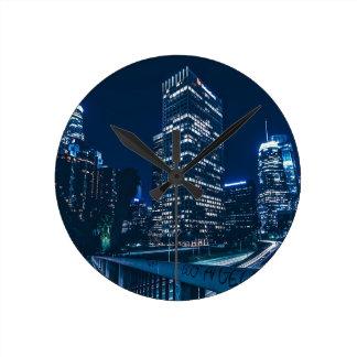Relógio Redondo Construções urbanas da cidade de Los Angeles