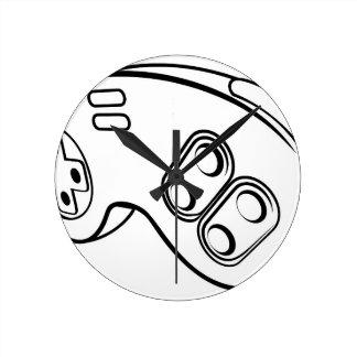 Relógio Redondo Controlador dos jogos