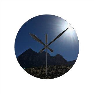 Relógio Redondo Cordilheira do nanovolt