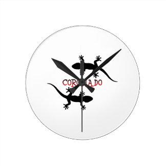 Relógio Redondo Coronado Califórnia