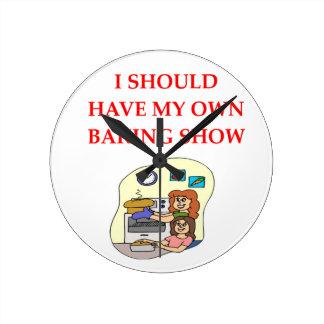 Relógio Redondo cozimento