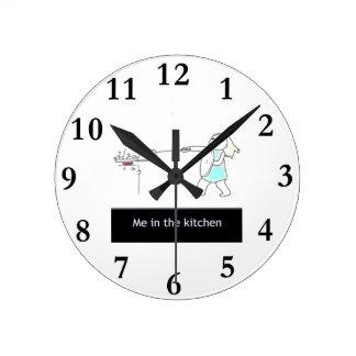 Relógio Redondo cozinha