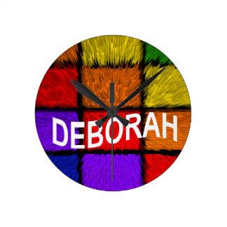 RELÓGIO REDONDO DEBORAH