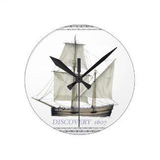 Relógio Redondo descoberta 1607