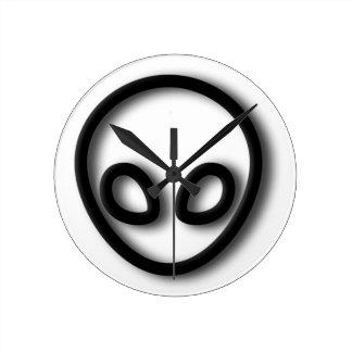 Relógio Redondo Design estrangeiro das cinzas