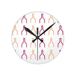 Relógio Redondo Design Marrocos exótico