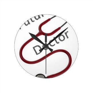Relógio Redondo Doutor futuro Dr.
