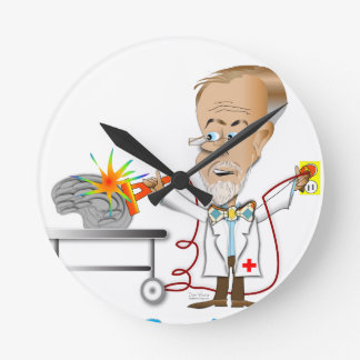 Relógio Redondo Dr. Braino