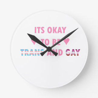 Relógio Redondo É aprovado ser o transporte e o gay (v4)