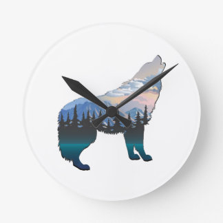 Relógio Redondo Eco de Yellowstone