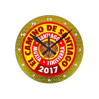 Relógio Redondo EL Camino de Santiago 2017