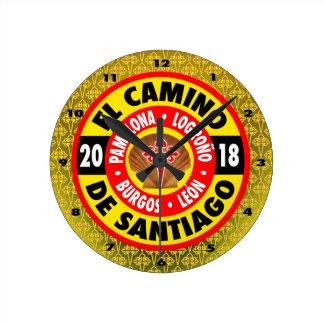Relógio Redondo EL Camino de Santiago 2018
