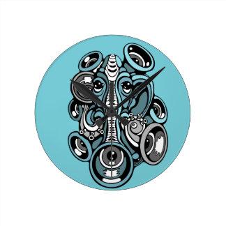 Relógio Redondo elefante da música