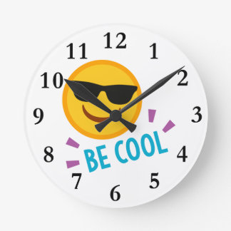 Relógio Redondo Emoji seja legal