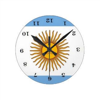 Relógio Redondo en Argentina do abajo do por