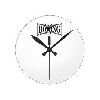 Relógio Redondo Encaixotamento-estilo