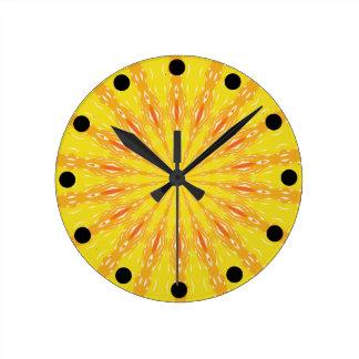 Relógio Redondo Escolha seu pulso de disparo animador de Sun