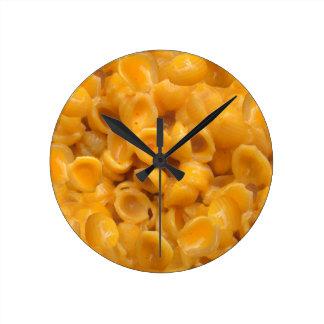 Relógio Redondo escudos e queijo