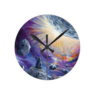 Relógio Redondo Espaço
