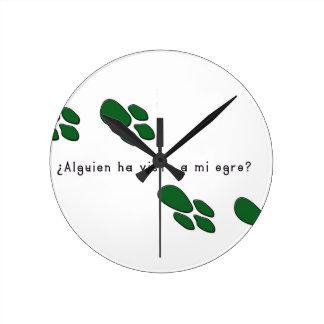 Relógio Redondo Espanhol-Ogre
