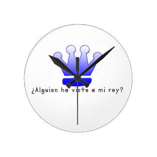 Relógio Redondo Espanhol-Rei