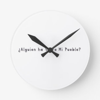 Relógio Redondo Espanhol-Vila