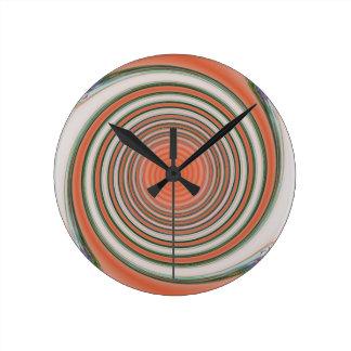 Relógio Redondo Espiral - limite