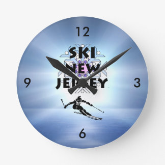 Relógio Redondo Esqui SUPERIOR New-jersey