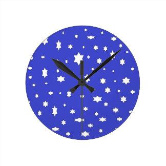 Relógio Redondo estrelado-nite
