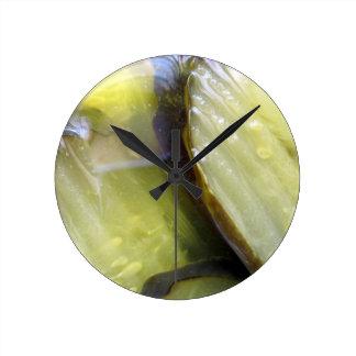 Relógio Redondo Eu amo salmouras