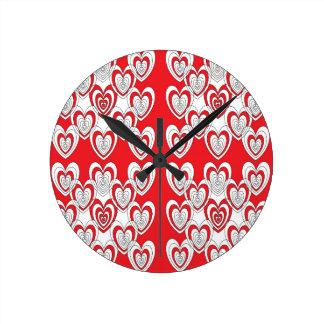 Relógio Redondo Eu te amo mais
