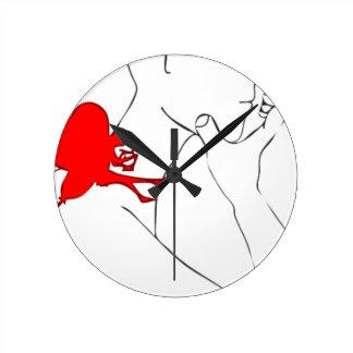 Relógio Redondo Fada e I