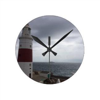 Relógio Redondo Farol de Gibraltar