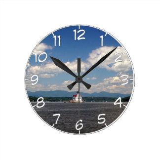 Relógio Redondo Farol do Rio Hudson