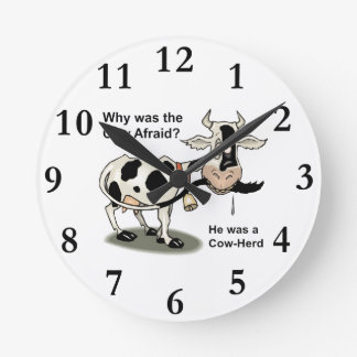 Relógio Redondo fazenda