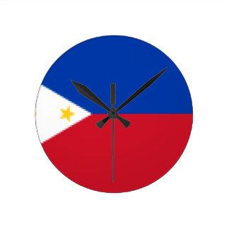 Relógio Redondo Flag_of_the_Philippines