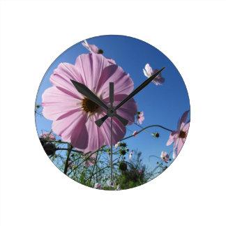 Relógio Redondo flor