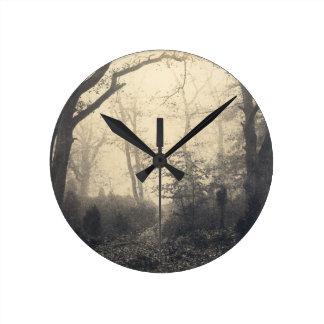 Relógio Redondo Floresta de Fontainebleau