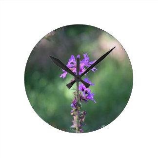 Relógio Redondo flower_purple.JPG