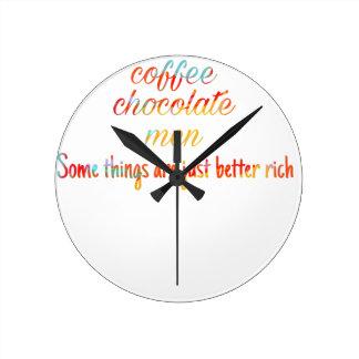 Relógio Redondo Frase
